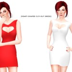 itsleeloo's Heart-Shaped Cut-Out Dress