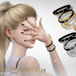 S-Club LL ts4 bracelet N03