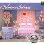 jomsims' Sweet Valentine Bedroom