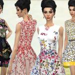 Fritzie.Lein's Floral Spring Dresses