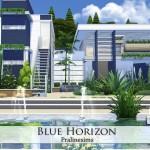 Pralinesims' Blue Horizon
