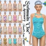 "Swimsuits ""Cloe"" & Accessory Swimsuits ""Cloe"""