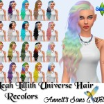 Leah Lillith Universe Hair – Recolors