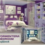 Formentera Bedroom. Sims 4 Custom Content. – pqSim4