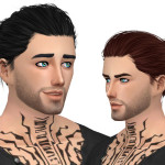 Simista A little sims 4 blog ♥: Blackout Hair Retexture