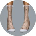 SIMS4 marigold: Frill Lace Socks_ ruffle lace socks girl socks _