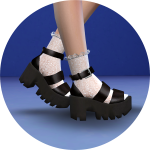 SIMS4 marigold: Chunky Sandal_ chunky sandals women's shoes _