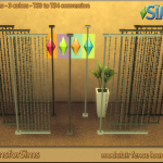 TS3 To TS4 Conversion – fence lounge | Designs for Sims