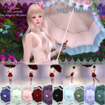 Viktoria Sims • Vikki ♡ Umbrella Set | Special Gift for Sims-New!…