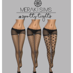 m e r a k i s i m s — 38. Spotty tights Custom thumbnail. Standalone. HQ…