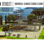 Urban Street [Under Construction] Set converted from ts3 debug objects.
