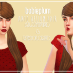 kaisoo trash | Anto Helium Hair // Clayified & Recolored mesh is…