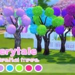 Dreamland TS4 CC Pastel/Vibrant Small Celestial Trees