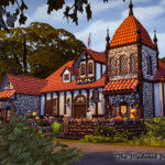 Simsmissdd — MY SIMS4 NEW HOUSE ~~~~~ A Medieval Pub 【NO CC】…