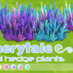 Dreamland TS4 CC Celestial Hedge Plants