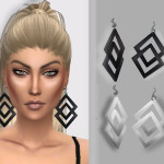 Puresim TSR // – DOUBLE TROUBLE EARRINGS –     ( weird name han?…