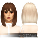 MISSPARAPLY | [TS4] Nightcrawler Silver: Solids 64 colors …
