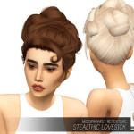 MISSPARAPLY | [TS4] Stealthic Lovesick: Solids 64 colors Custom…