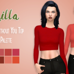 Hey guys! Here's another recolor in my brand new… – simsilla!