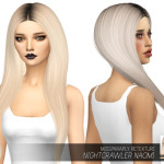MISSPARAPLY | [TS4] Nightcrawler Naomi: Dark Roots 64 colors …