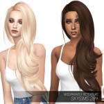 MISSPARAPLY | [TS4] Skysims 284: Solids 64 colors Custom…