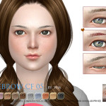S-Club WM thesims4 Eyebrows05 CF