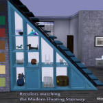 ShinoKCR's Under Stair – Shelves Recolors