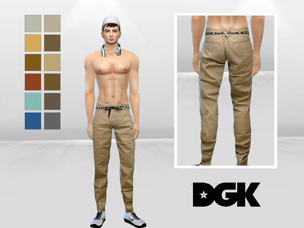 Mclaynesims Spears Belted Urban Chinos Sims 4 Updates