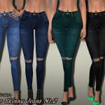 Pinkzombiecupcakes' Indigo Skinny Jeans No.02