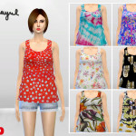 McLayneSims' Girly Things Tank Tops