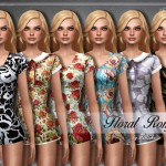 Trilly21's Trillyke – Floral Romper