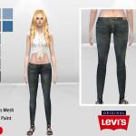 McLayneSims' Zara Skinny Denim Jeans