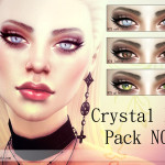 Pralinesims' Crystal Eye Pack N09