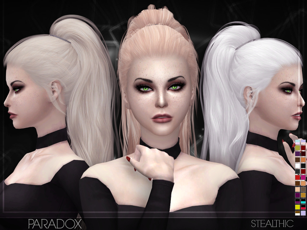 Stealthic Paradox Female Hair Sims 4 Updates