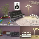 "TS3 EA Living Set ""Tulips"" Conversion"