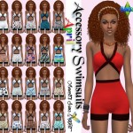 "Accessory Swimsuits ""April"""