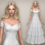 BEO CREATIONS: Wedding dress – Vintage (S4)