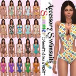 "Accessory Swimsuits ""Summer"""