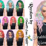 "Stealthic Hair ""Genesis"" Recolors"