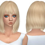 Simista A little sims 4 blog ♥: Silver Hair Retexture