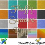 Fluffy Square Rugs