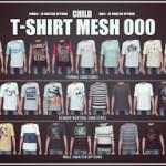 Child T-Shirt Mesh [000] – Onyx Sims