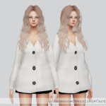 ☾ TS4 Oversized Cardigan