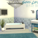 Sims Like It Hot — Bayside Bathroom and Add-Ons converted from The…