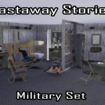 Enure Sims, ts2-ts4 Castaway Stories Military Set by request…