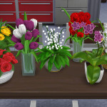 Flower Set for The Sims 4 from Dara_Savelly