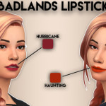 Hanjisims Badlands Lipstick // 9 Lip Colours
