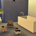 made a bathroom, I totally felt in love with…