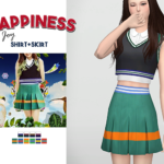 WAEKEY • Happiness Joy Shirt + Skirt • New meshes / EA…