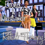 Ebonix & iWikedsimblr Collab Gift | Retail Therapy!
